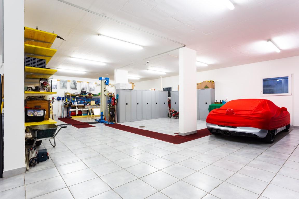 garage carrelé