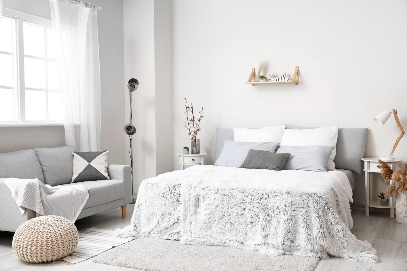 couleur chambre grise